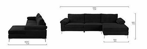 Large Sectional Fabric Extra Wide