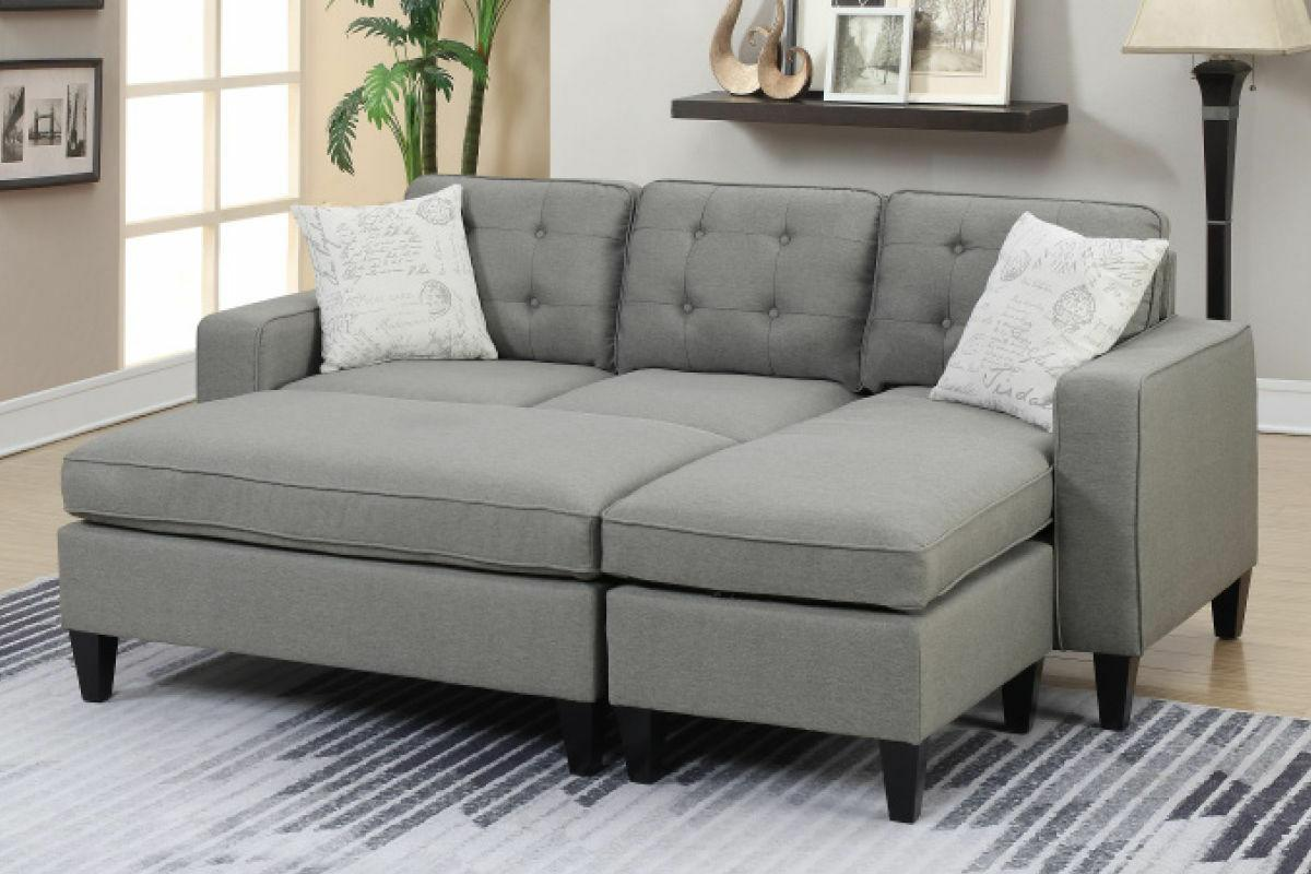 Poundex In One Sectional Ottoman