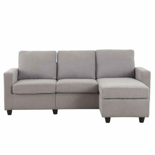Linen Sofa Couch Sofa for
