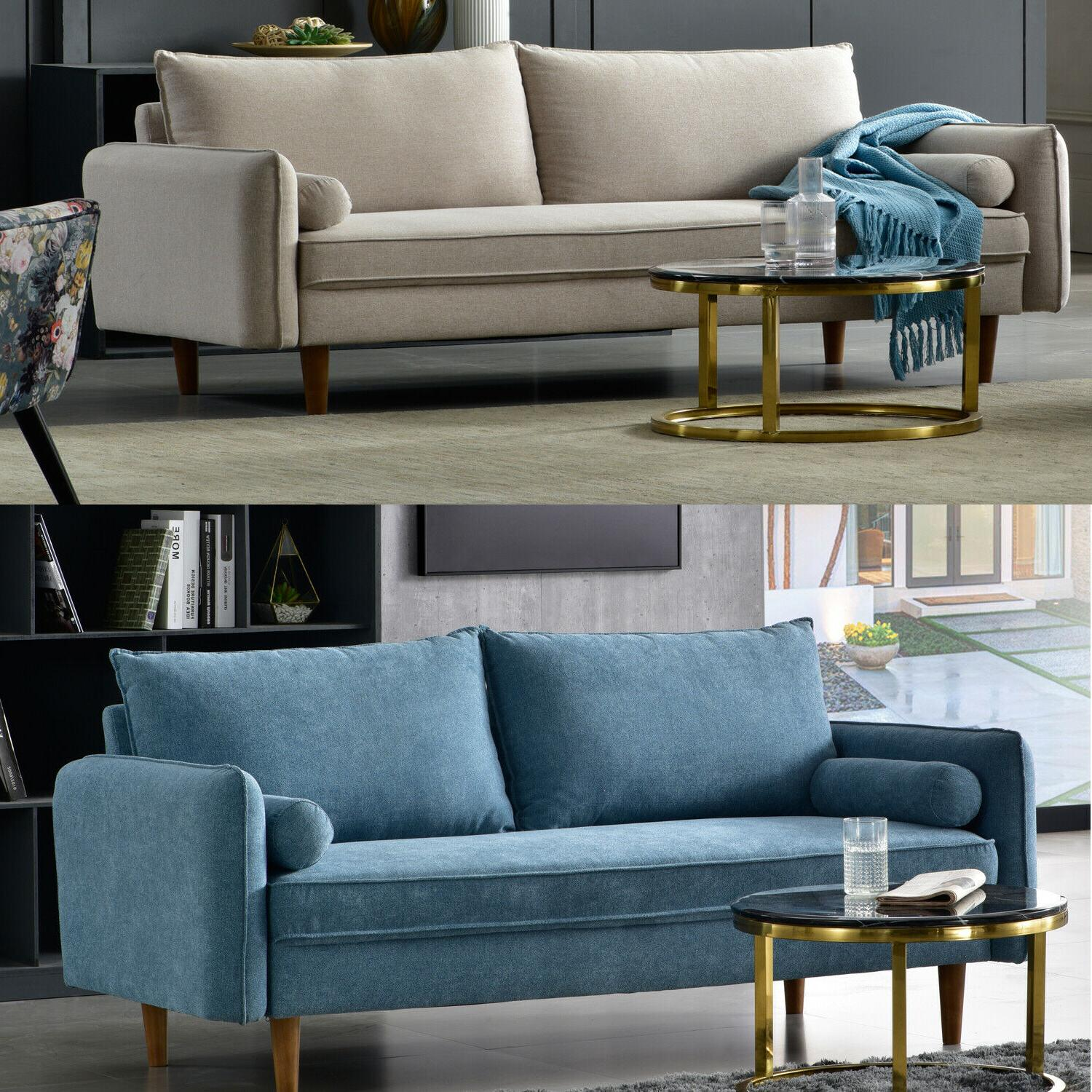 linen fabric sofa couch living room sofa