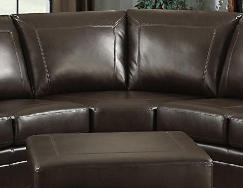 AC Louis Traditional Living Sectional with Storage 2 Accent