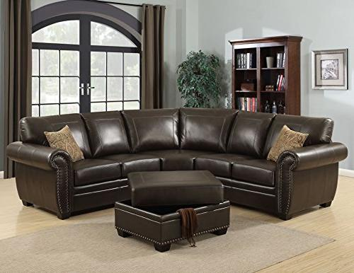 louis collection traditional upholstered leather
