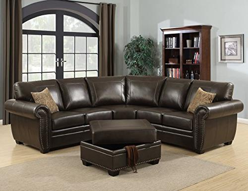 louis traditional fabric room sectional