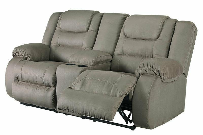 MANTARO Sectional Living Furniture Couch Set Microfiber Reclining