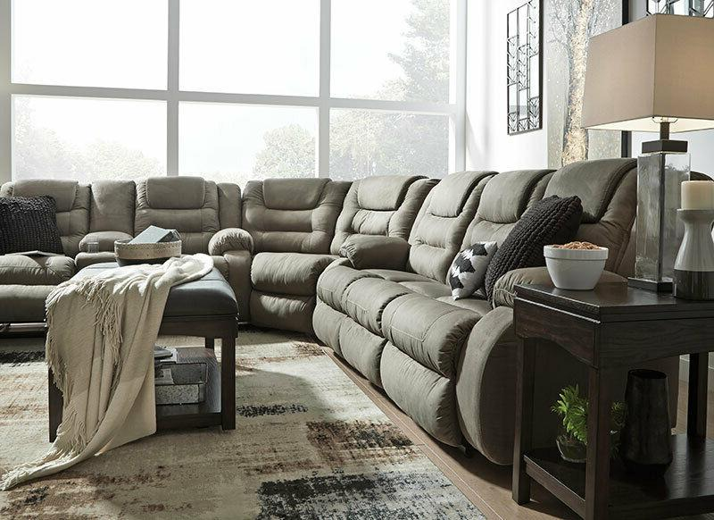 MANTARO Sectional Furniture Couch Microfiber Reclining