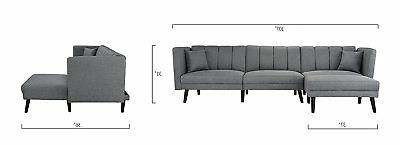Mid Sofa Bed Couch, Light