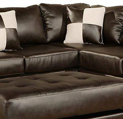 Modern PC Bonded Match Sectional Sofa,