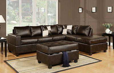 Modern Reversible Bonded Leather /Leather Match