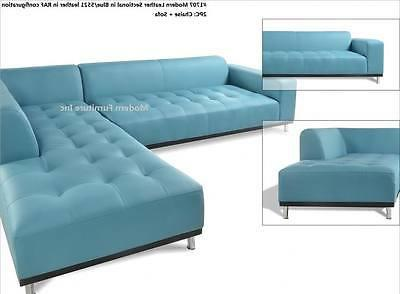 Modern contemporary Sectional Sofa chaise chair 3 pieces set