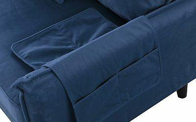 Upholstery Sectional Navy