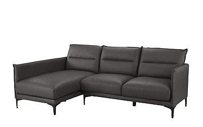Modern Linen Fabric Large Sectional Sofa, Classic L-Shape
