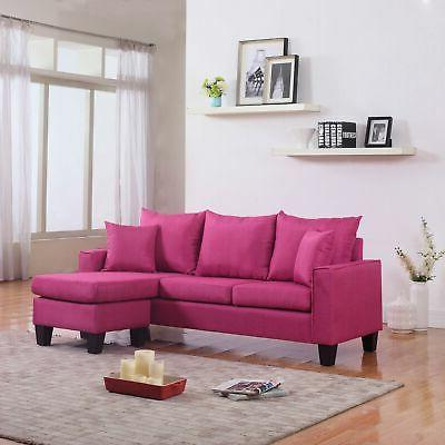 modern linen fabric space sectional