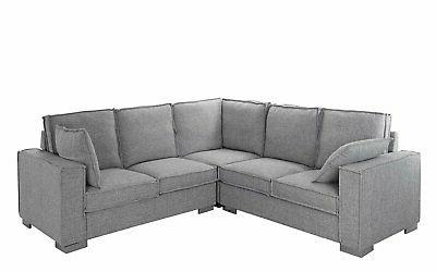 modern living room fabric sectional sofa l