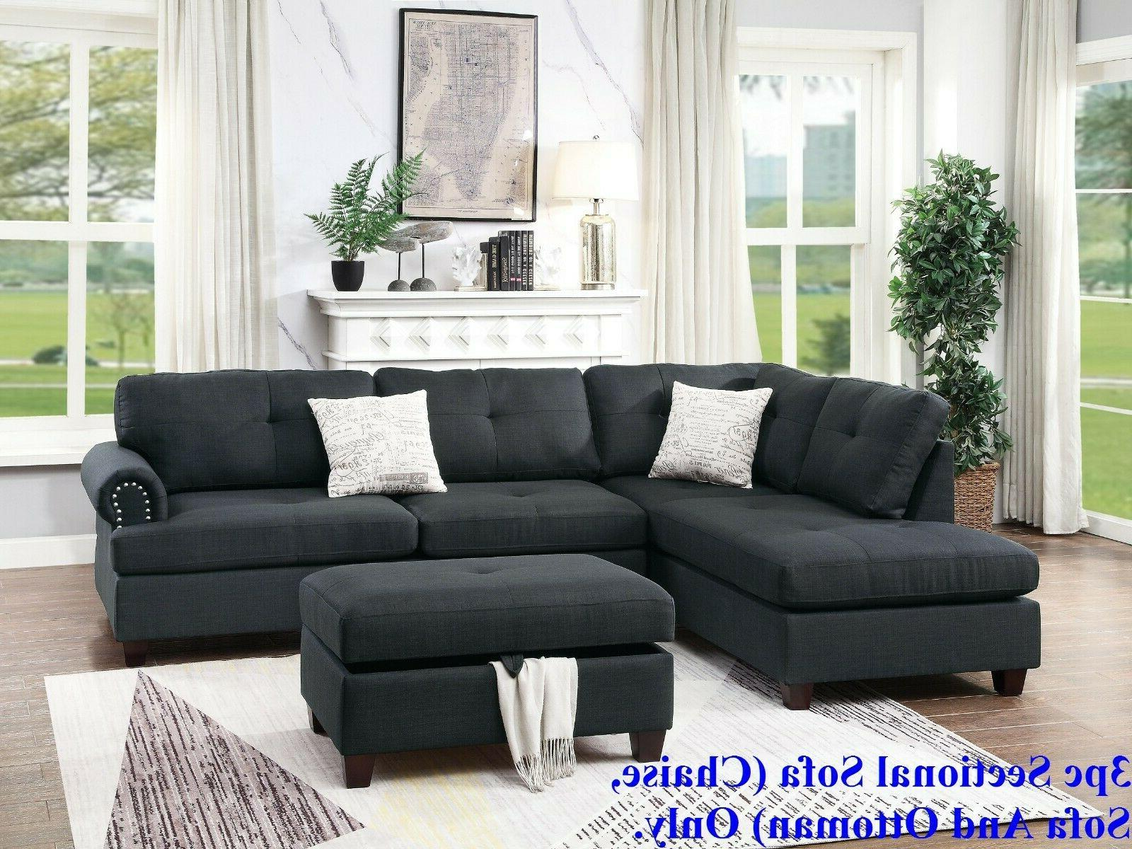 modern sectional sofa l shaped couch tufted