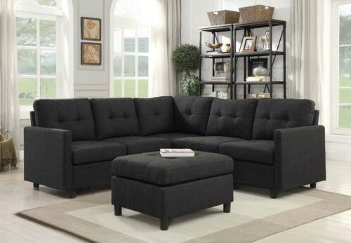 modern sectional sofa living room furniture contemporary
