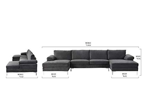 U-Shape Extra Wide Couch