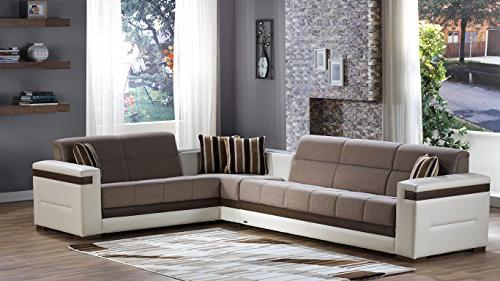 moon sectional sofa bed platin