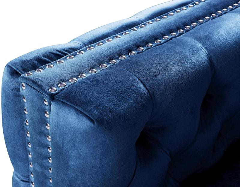 Iconic Mozart Hand Sectional L Shape Tufted