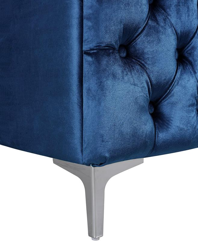 Iconic Left Hand L Shape Button Tufted