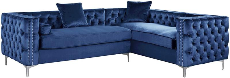 Iconic Left Hand Facing Sectional L Tufted