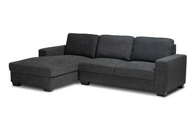 nevin dark grey sectional sofa with right