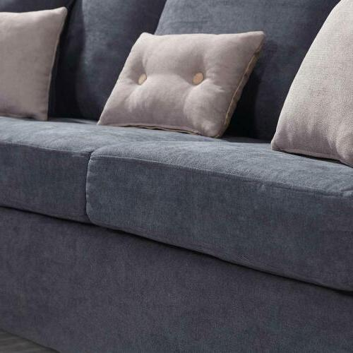New Sofa Couch Chaise for Small
