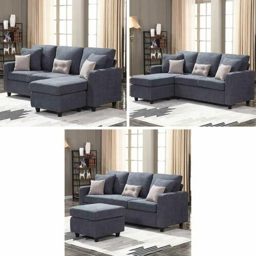 Sofa Chaise for Small Space