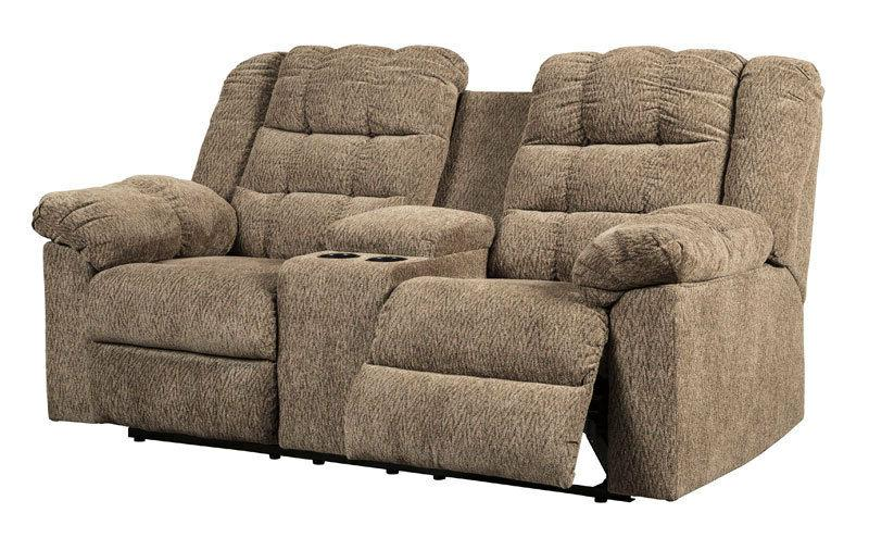 NEW Sectional LIGHT BROWN Fabric Sofa