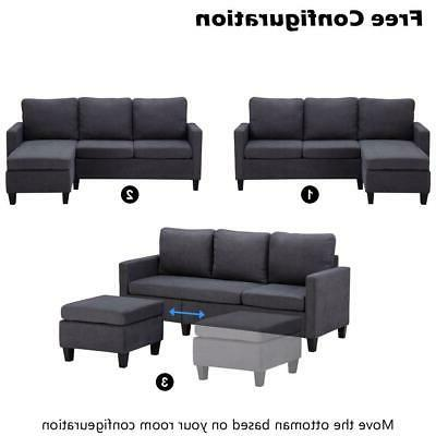 New Convertible Couch With 3