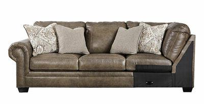 NEW Traditional Room Taupe Sofa
