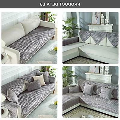 Ostepdecor Cover, Quilted Sectional Couch Covers, Sofa For