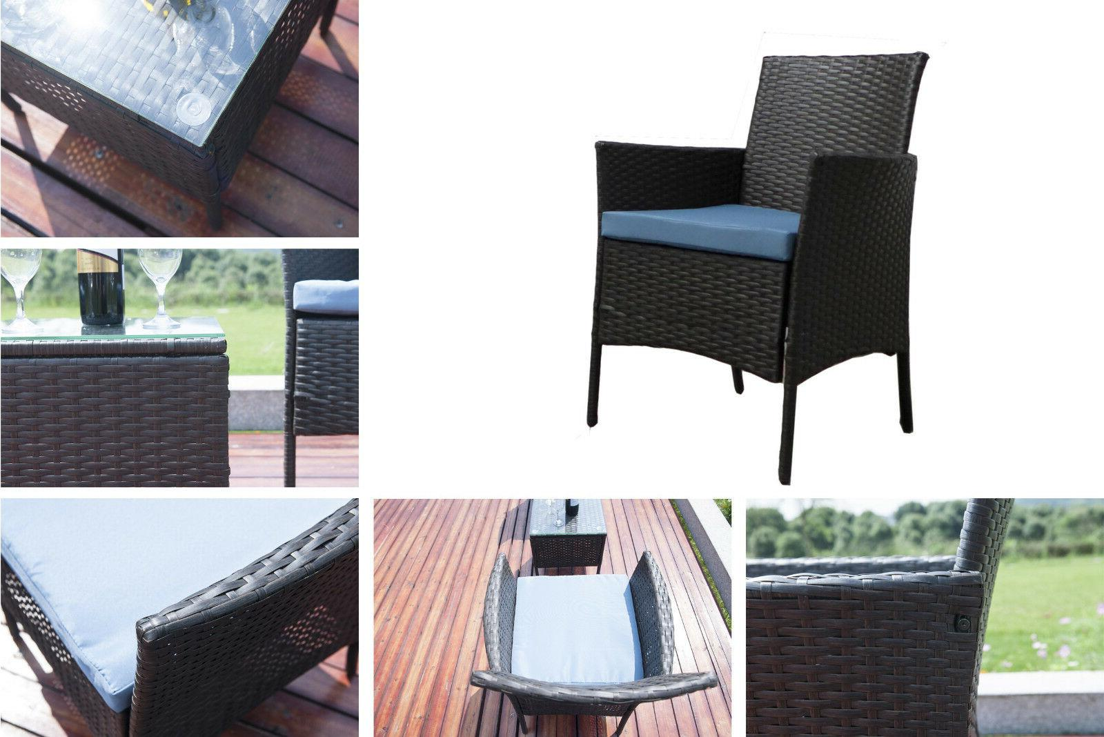 Patio Furniture Sectional Set Outdoor Wicker Large Seat