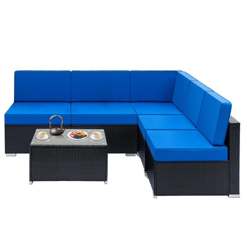 Patio Set Sectional Couch Outdoor & Table