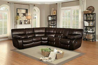 """Homelegance 95"""" Reclining Sectional"""
