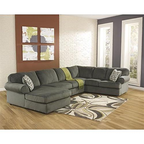 place u shaped sectional pewter
