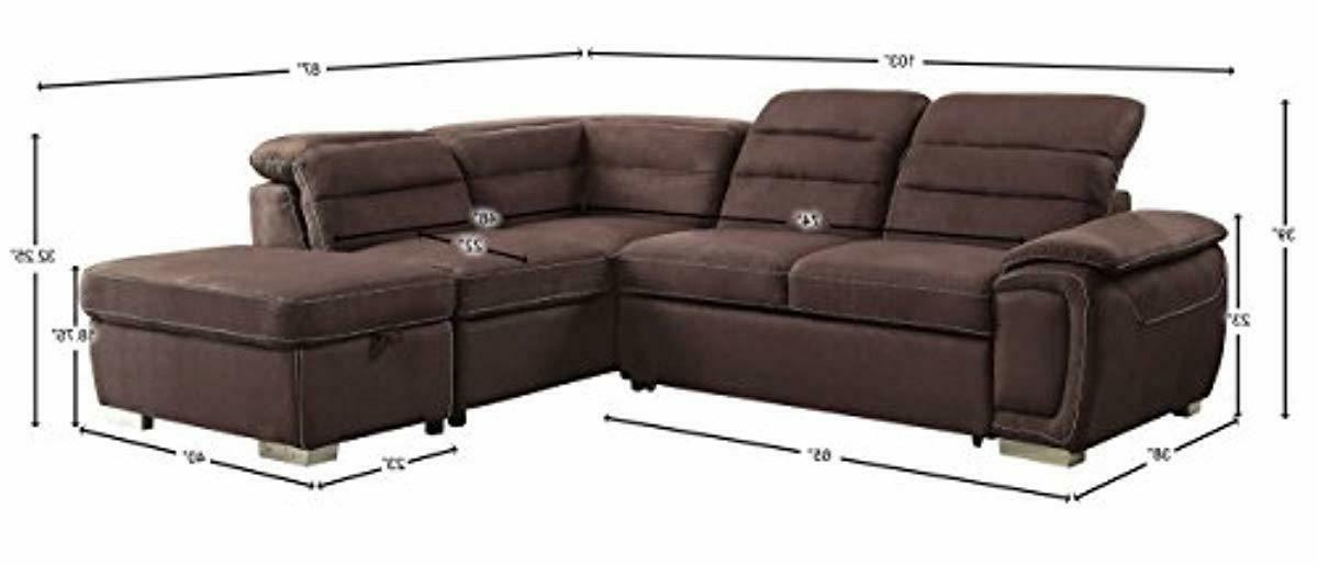 "Homelegance Platina 103"" Sofa Bed and"