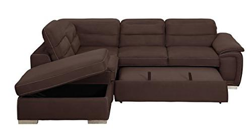 Homelegance Sectional Sofa Bed Fabric