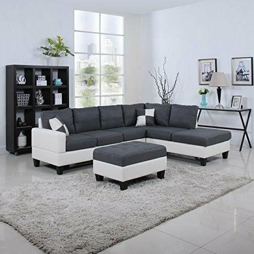 Plushy Sofa Set 4PC