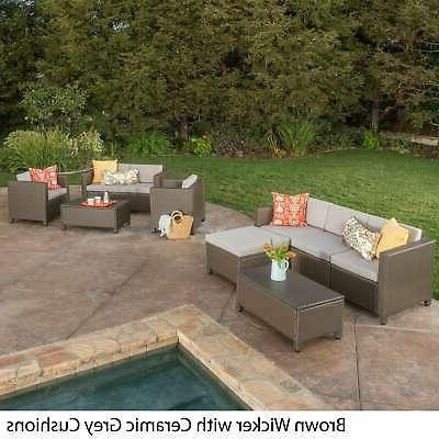 Puerta Outdoor Sectional Set