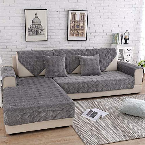 quilted furniture protector couch slipcover