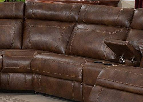 6-Piece Reclining Living Sectional with Clark,