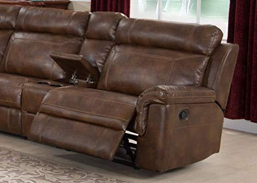 Christies 6-Piece Reclining Living Sectional with Clark,