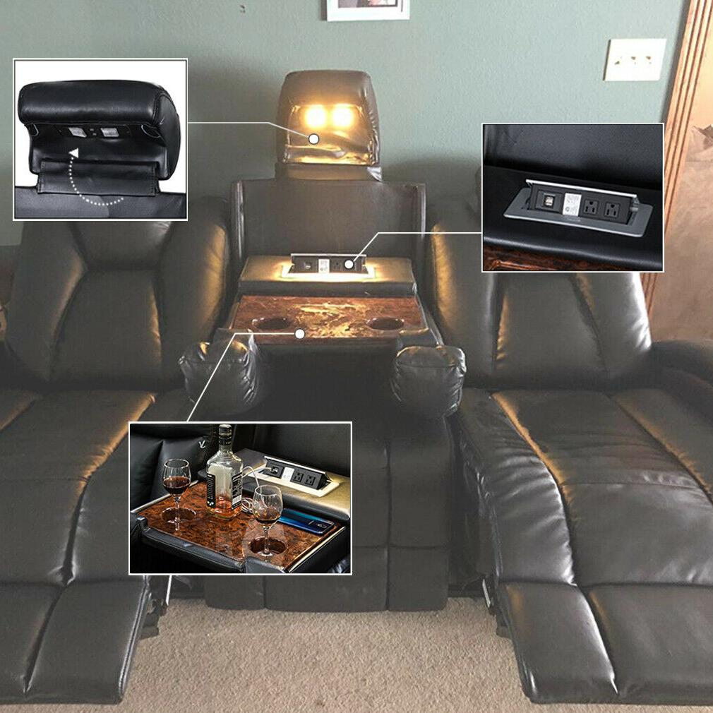 Reclining Seating Power Recliner Sectional Sofa
