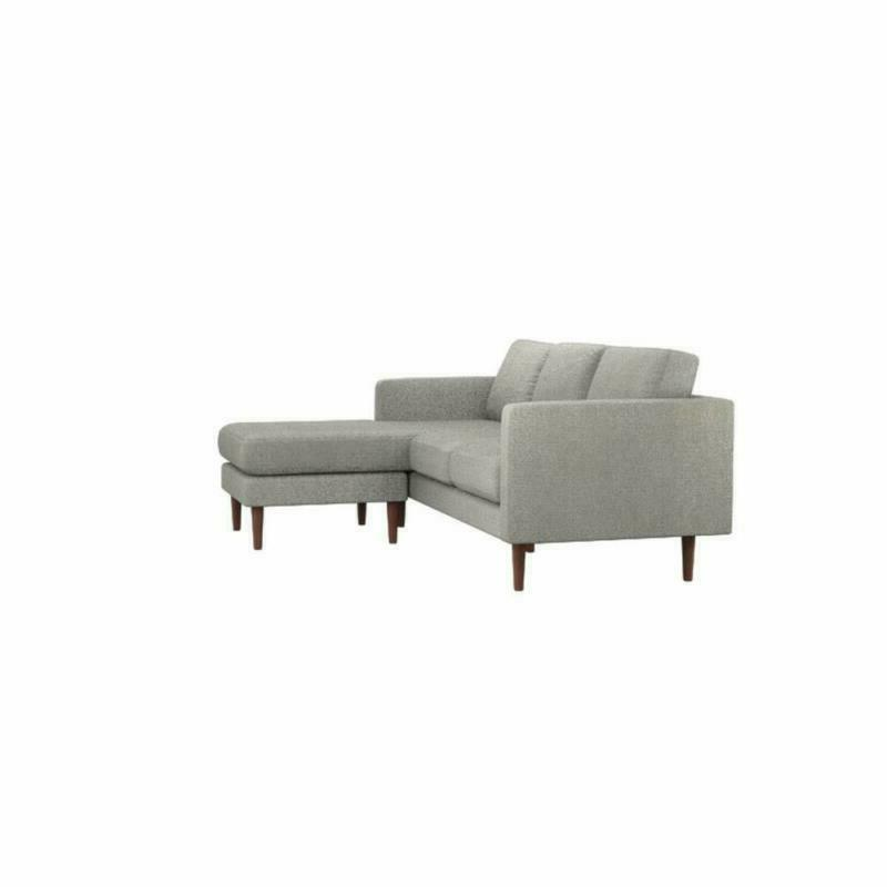 """Rivet Reversible Couch, 80""""W,"""