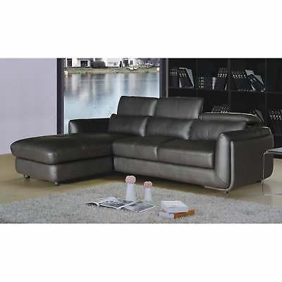 Ron Modern 2-piece and Sectional Brown Modern Contem