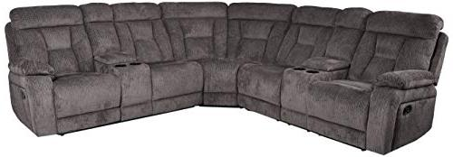 rosnay manual reclining sectional