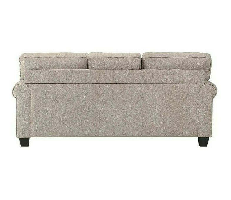 Sectional with Accent Reversible Chair