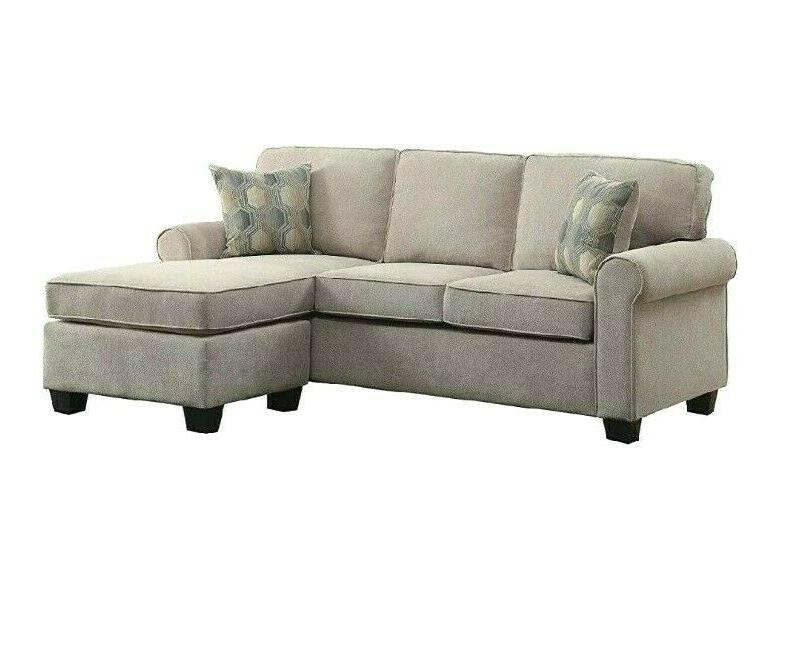 sectional sofa couch with accent pillows chaise