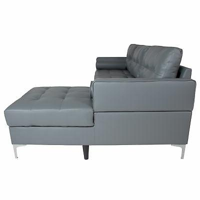 Flash Sectional Chaise and BT-S8376-SFCHSE-GY-GG