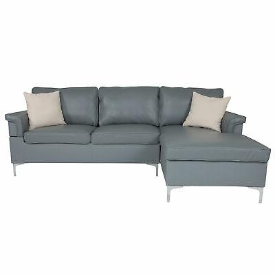 Flash Furniture Chaise BT-S8375-SFCHSE-GRY-GG